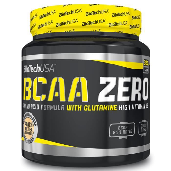 BCAA ZERO 360 G ARÔME PEACH ICE TEA