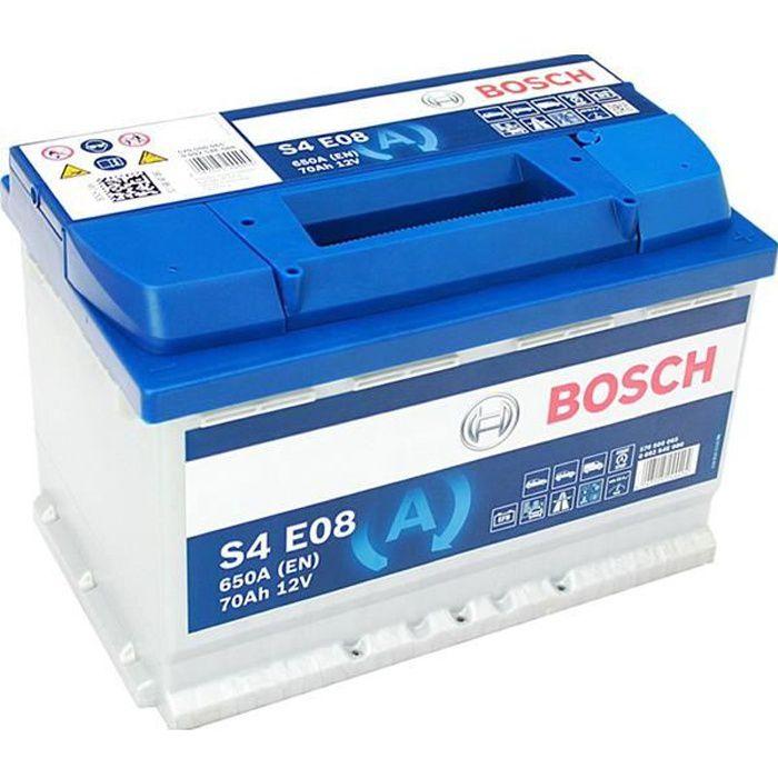 Batterie BOSCH Bosch S4E08 70Ah 650A - 4047025244404