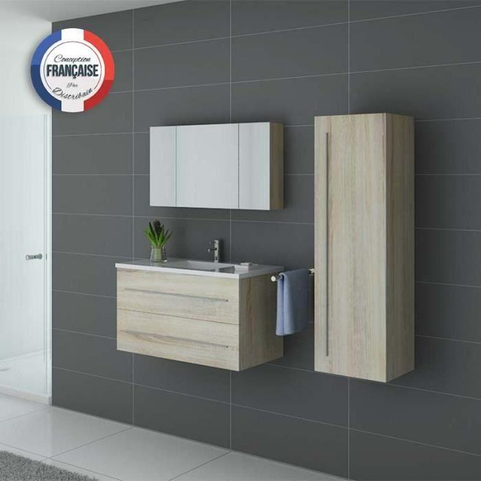 Meuble de salle de bain Nova Scandinave 895
