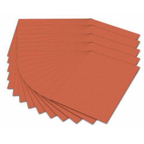 Folia 614 50/40 Fotokarton 300 g/m, Format A4, orange, 50 feuilles - 614/50 40