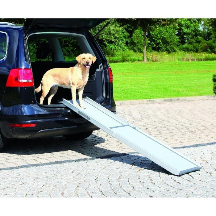 TRIXIE Rampe télescopique pour chien 43x100-180 cm