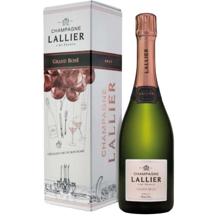 Champagne LALLIER Grand Rosé