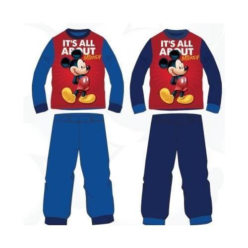 pyjama long MICKEY bleu