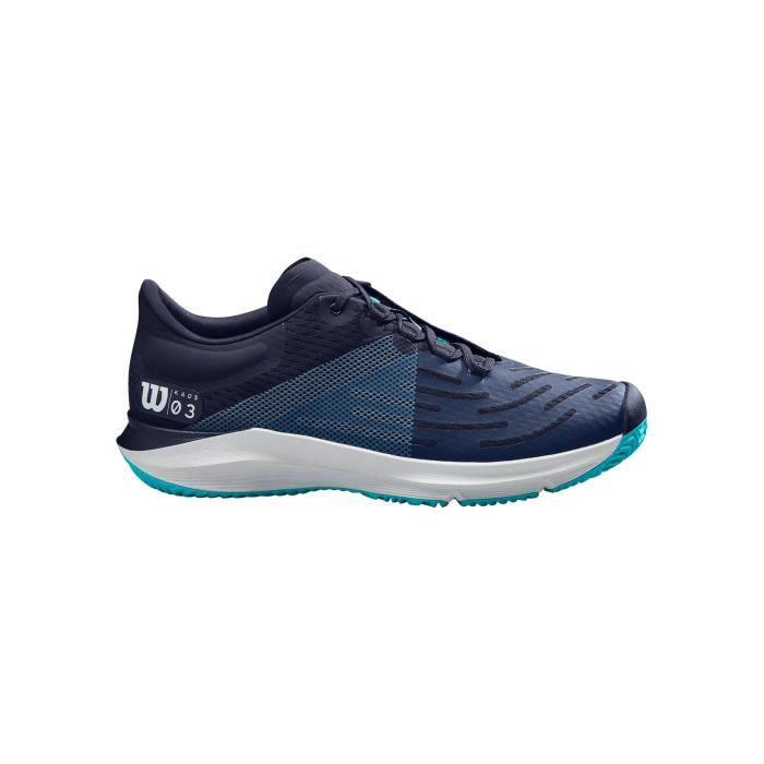 Chaussures WILSON Homme Kaos 3.0 Bleu / Turquoise / Blanc PE 2020