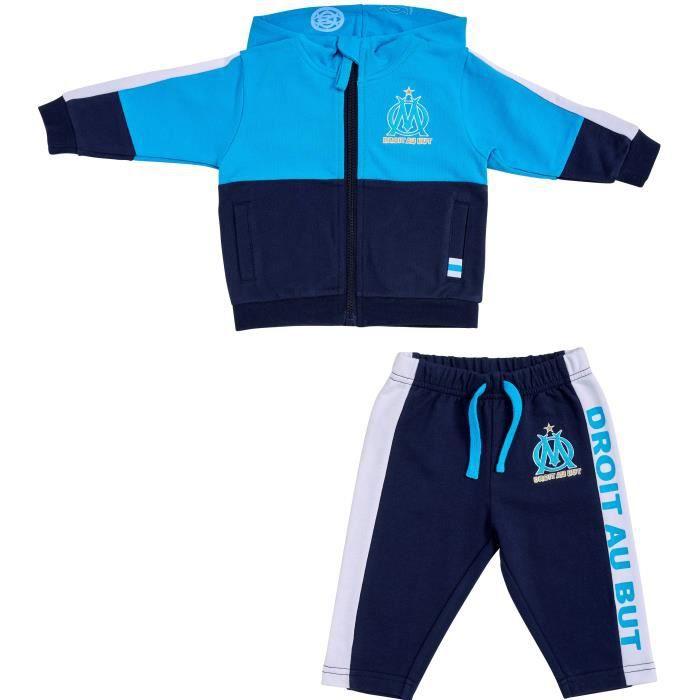 Ensemble jogging bébé garçon OM - Collection officielle Olympique de Marseille