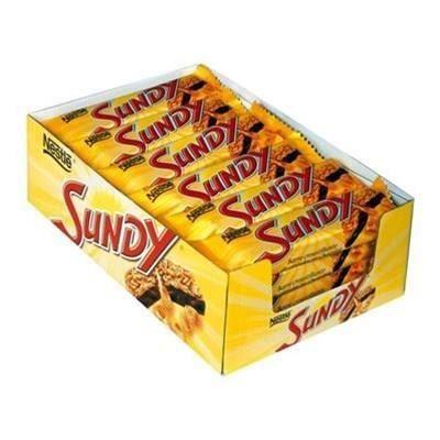SUNDY Pack de barres chocolatées - 24x 36 g