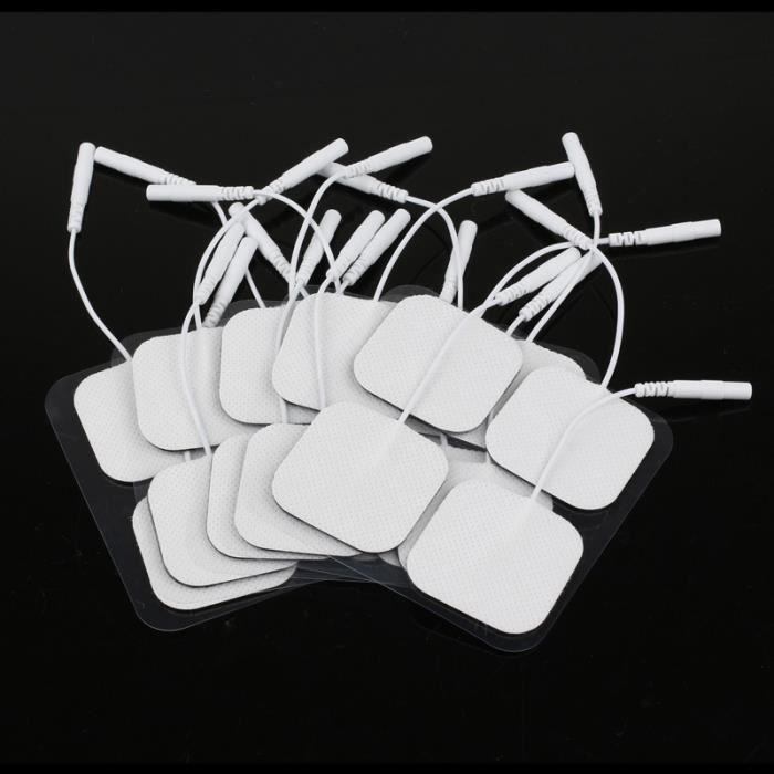 20Pcs Électrodes Autoadhésives De Rechange Universelles Pour Ceinture D'Électrostimulation - 40*40Mm