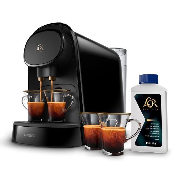PHILIPS L'or Barista LM8012/61 Machine à café dosette + 9 capsules - Noir