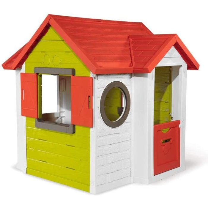 Maison My Neo House en plastique anti-UV SMOBY