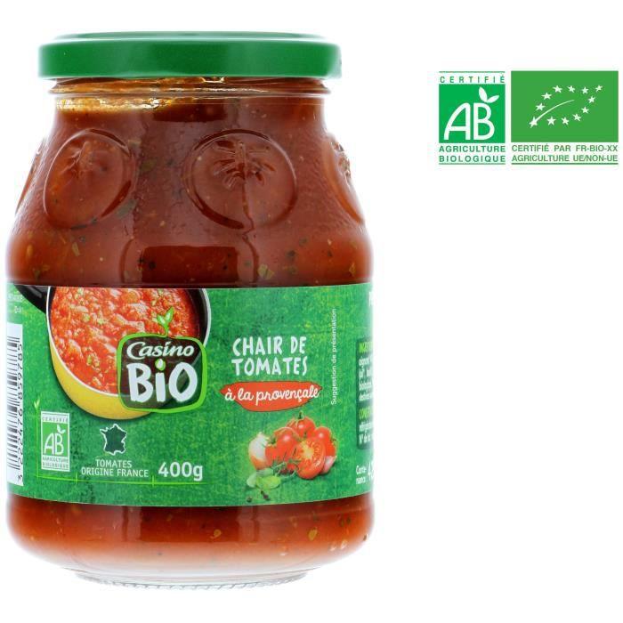 Chair de tomate à la provençale bio - 400 g