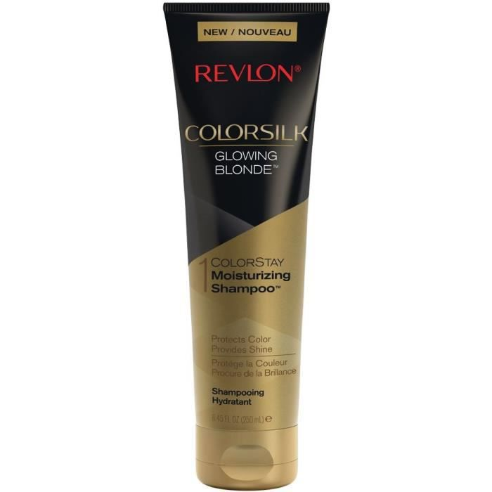 REVLON Shampoing hydratant Colorsilk - Glowing Blonde - 250 ml