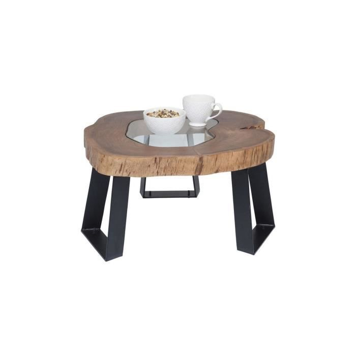 table basse fundy 60x65 cm kare design achat vente table basse table basse fundy 60x65 cm. Black Bedroom Furniture Sets. Home Design Ideas
