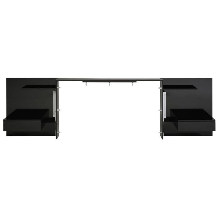 t te de lit extensible lit 140 160 180 cm n achat. Black Bedroom Furniture Sets. Home Design Ideas