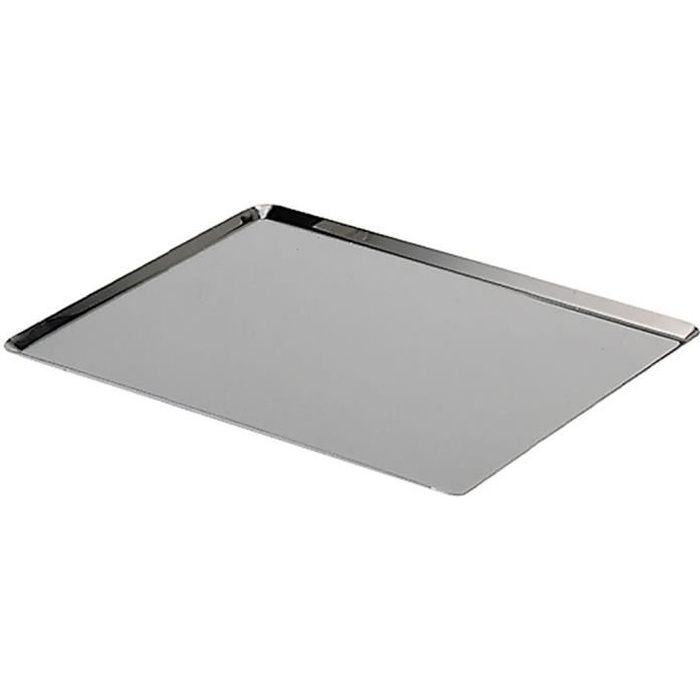 PLAQUE A PATISSERIE DE BUYER Plaque rectangulaire - Inox - L 40 x l 30