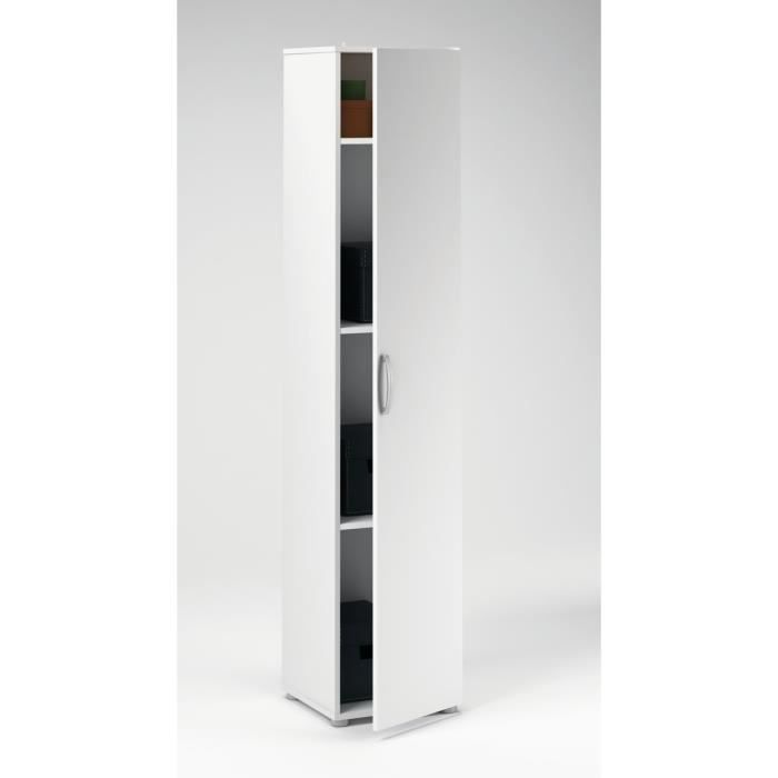 armoire 1 porte cobi achat vente armoire de chambre. Black Bedroom Furniture Sets. Home Design Ideas