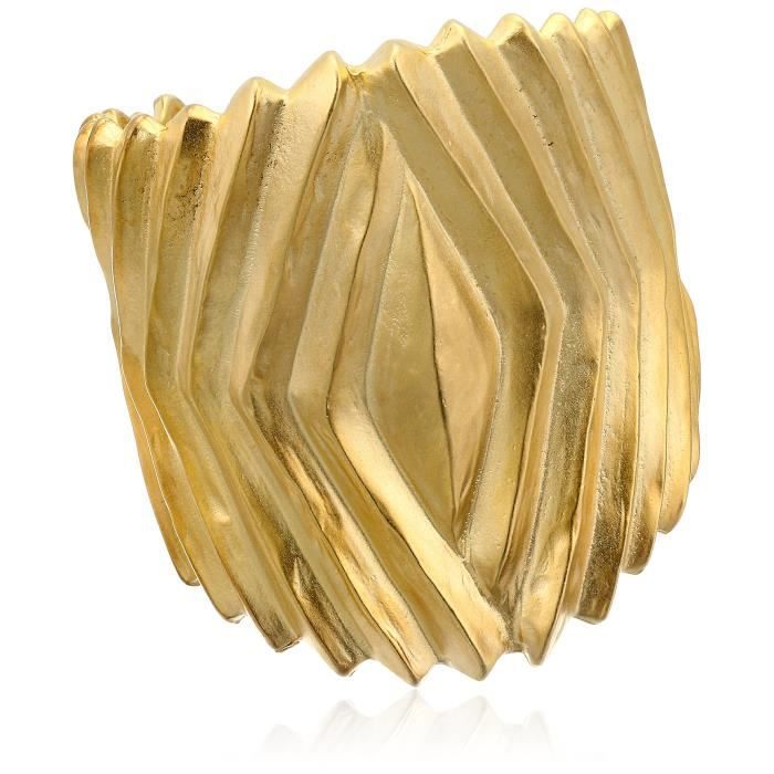 Kenneth Jay Lane Ribbed Hinged Cuff Bracelet HYRME