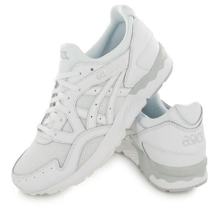 reputable site e58aa 467cf BASKET Asics Gel Lyte V blanc, baskets mode homme