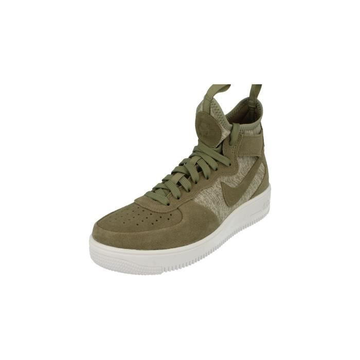 Nike Air Force 1 Ultraforce Mid PRM Hommes Hi Top Trainers 921126 Sneakers Chaussures 002