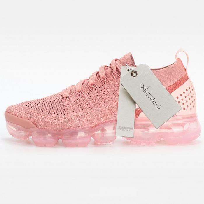 basket femme vapormax rose