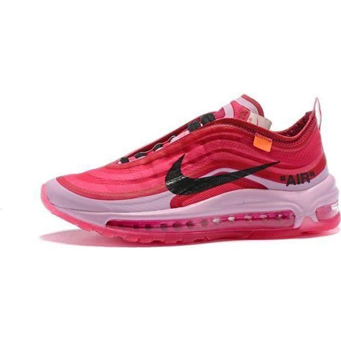 Baskets Air' Max 97 Ultra 17 Femme chaussures de course Basse rose ...
