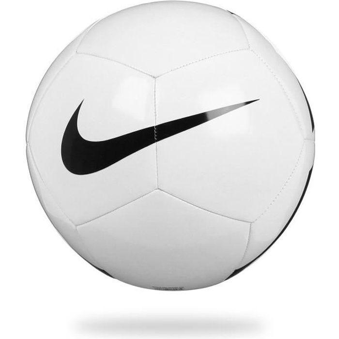 BALLON DE FOOTBALL NIKE Ballon Football PITCH TEAM - Blanc - Taille u