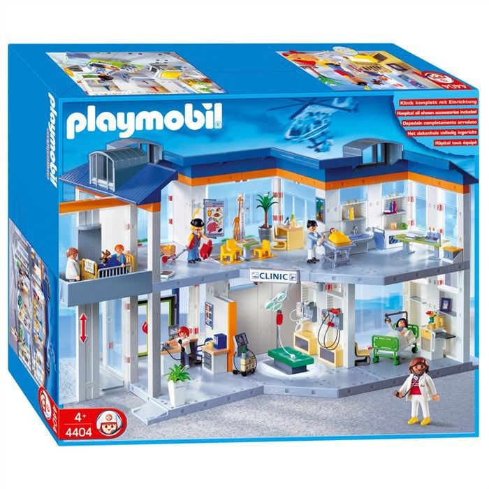 hopital playmobil les bons plans de micromonde. Black Bedroom Furniture Sets. Home Design Ideas