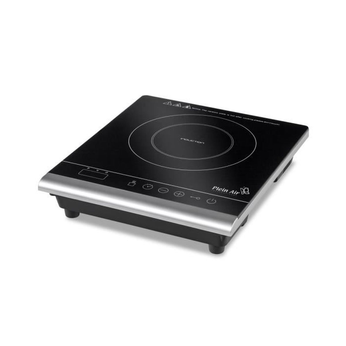 Plat En Verre Sur Plaque Induction plaque à induction 2000w portable programmable plein air affichage  numérique verre céramique