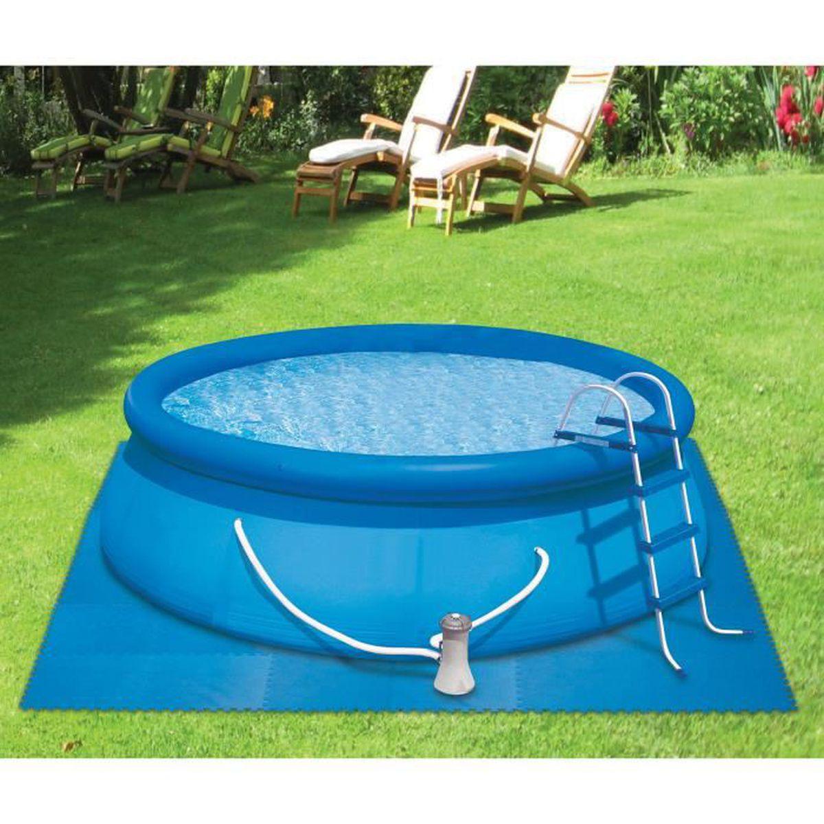 Dalle De Protection Piscine dalle de protection pour le sol kokido 60x60 cm (bleu) - ms10sw/blu - kokido