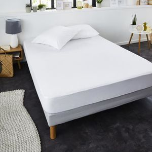protege matelas 180 x 200 cm impermeable achat vente pas cher. Black Bedroom Furniture Sets. Home Design Ideas