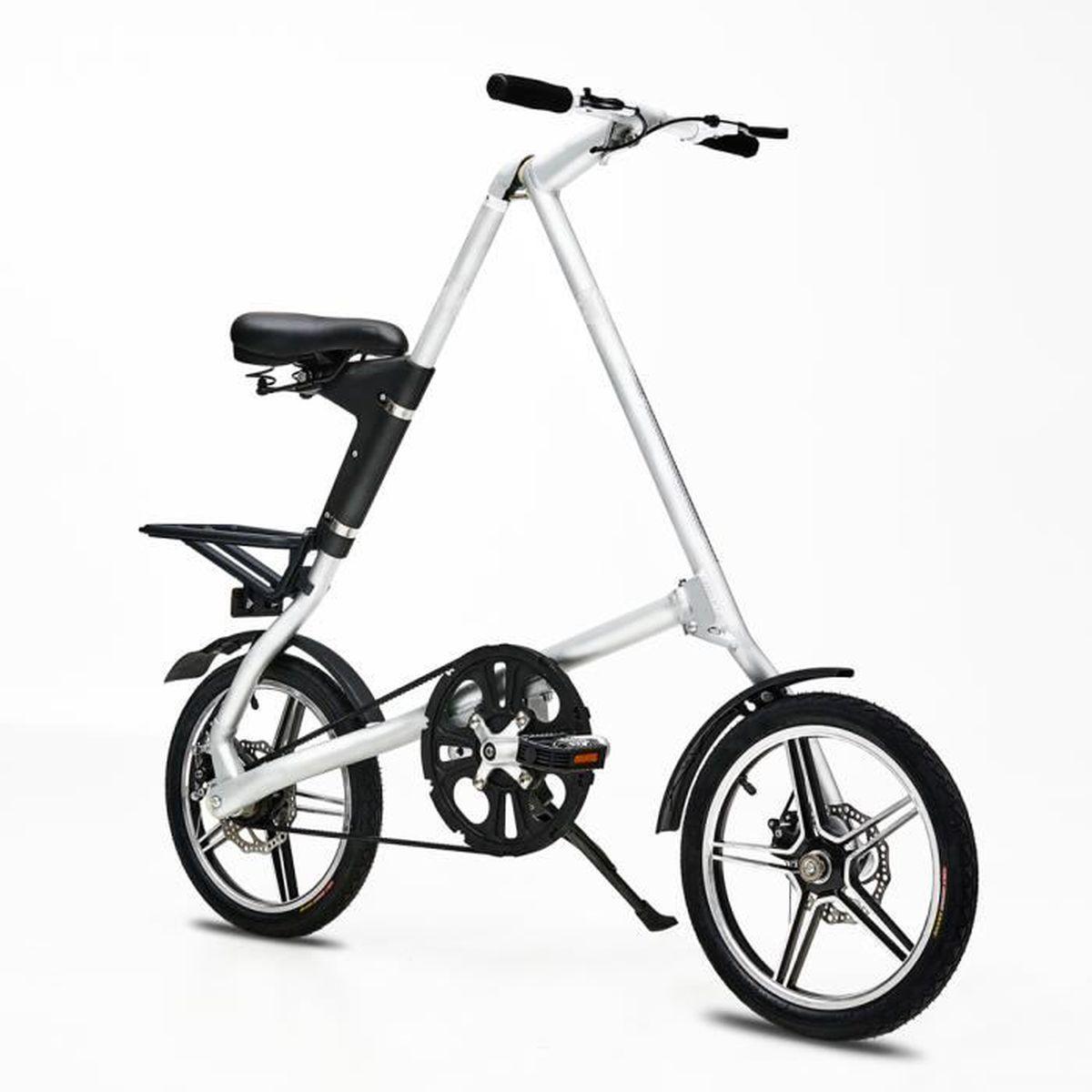 VÉLO PLIANT Vélo Pliant Vélo Adulte Portable Bicyclette Solide