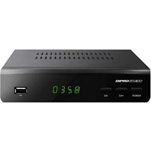 RÉCEPTEUR - DÉCODEUR   Décodeur DVB-T2 HEVC H265 10 bit PVR avec télécomm