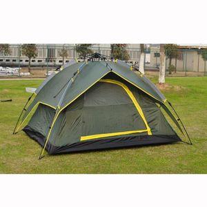 TENTE DE CAMPING Tente de camping 4 personnes double toit imperméab