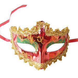 COUVERTURE - PLAID 2 PCS Masque d'Halloween Mascarade Ball Masques Pa