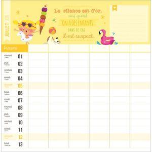 Calendrier Mensuel 2020 2019.Calendrier Planning