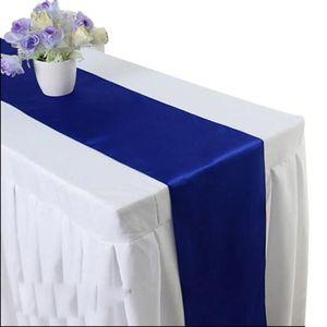 CHEMIN DE TABLE MC 1Pcs Chemin de Table Satiné Décoration de Table