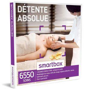 COFFRET BIEN-ÊTRE SMARTBOX - Coffret Cadeau - DÉTENTE ABSOLUE - 5330