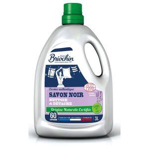LESSIVE BRIOCHIN Lessive authentique au savon noir - 3 L -