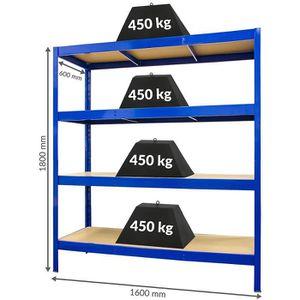 MEUBLE CLASSEMENT Solide rayonnage pour entrepôt – profondeur : 60 c