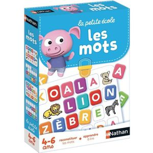 JEU D'APPRENTISSAGE NATHAN La Petite Ecole - Les Mots jeu educatif 314