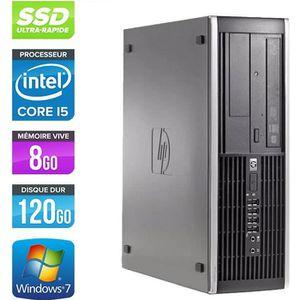 UNITÉ CENTRALE  HP Elite 8300 SFF - Core i5-3470 - 8Go - 120Go SSD