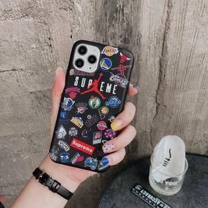 COQUE - BUMPER Coque iPhone 11,Supreme Air Jordan Noir Silicone e
