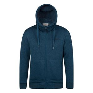 Mountain Warehouse Sweat à capuche pour hommes bordé de fourrure Nevis