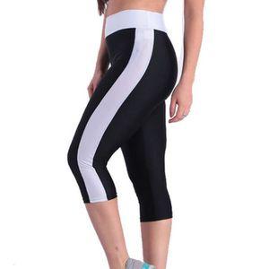 PANTALON Taille haute Tummy contrôle Yoga femmes Jambières