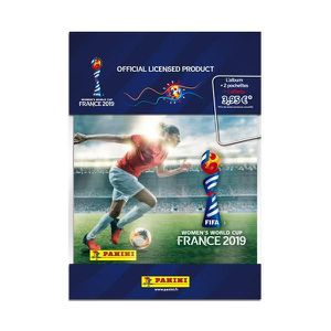 CARTE A COLLECTIONNER FIFA WOMEN'S WORLD CUP 2019 Album + 1 pochette + 2
