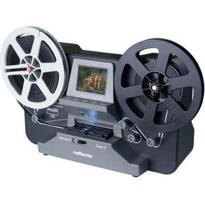 SCANNER Reflecta Scanner de films Super8 et 8mm - Ecran 2,