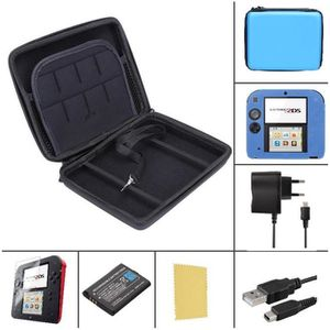 PACK ACCESSOIRE Pack Premium 6 en 1 Nintendo 2DS - Bleu - chargeur