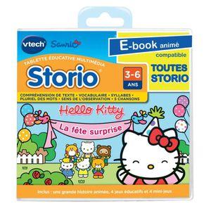 JEU CONSOLE ÉDUCATIVE Jeu Educatif Storio Hello Kitty