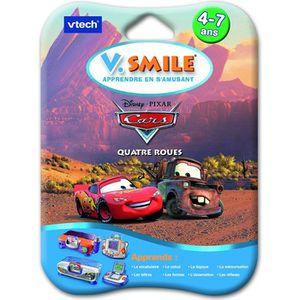 JEU CONSOLE ÉDUCATIVE Jeu V.smile Cars