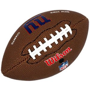 BALLON FOOT AMÉRICAIN Ballon  football américain Nfl team giants ny micr