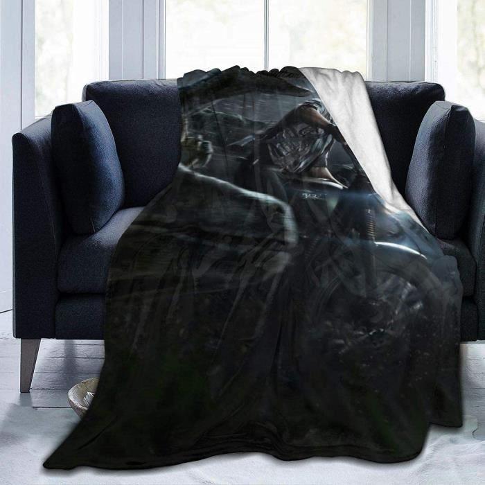 Jurassic World Supertural Couverture de lit en micro flanelle ultra douce et confortable pour canapé, chaise 125 x 150 cm